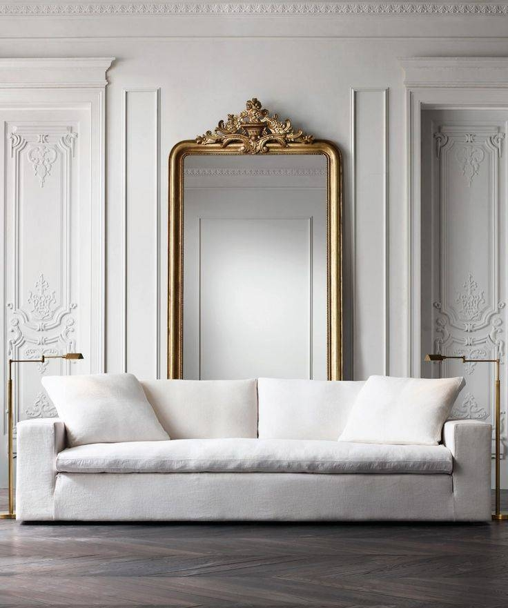 Best 25+ Antique Couch Ideas On Pinterest | Antique Sofa Throughout White French Mirrors (#9 of 20)