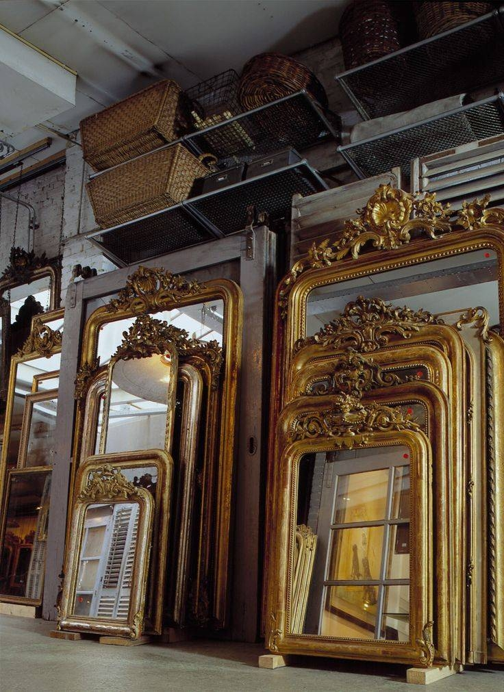 Best 25+ Antique Mirrors Ideas On Pinterest | Vintage Mirrors Regarding Large Gold Antique Mirrors (#17 of 30)