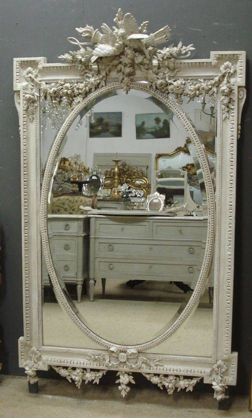 Best 25+ Antique Mirrors Ideas On Pinterest | Vintage Mirrors Regarding Vintage French Mirrors (#22 of 30)