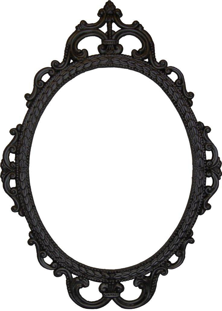 Best 25+ Antique Photo Frames Ideas On Pinterest | Antique With Regard To Black Vintage Mirrors (#14 of 30)