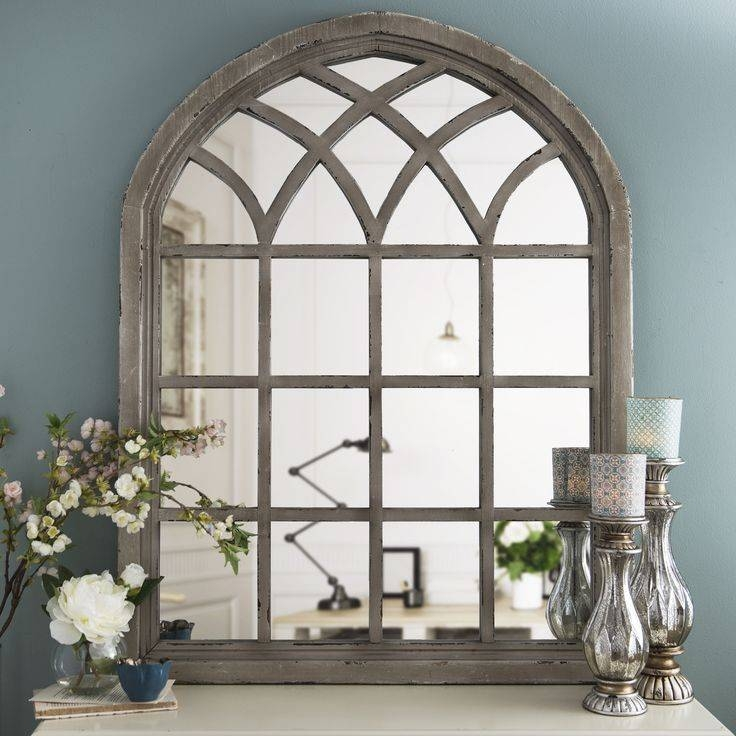 Best 25+ Arch Mirror Ideas On Pinterest | Foyer Table Decor Inside Distressed Cream Mirrors (#11 of 30)