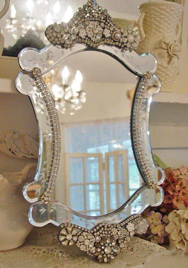 Best 25+ Beautiful Mirrors Ideas On Pinterest | Mirror Furniture Regarding Buy Vintage Mirrors (#11 of 20)