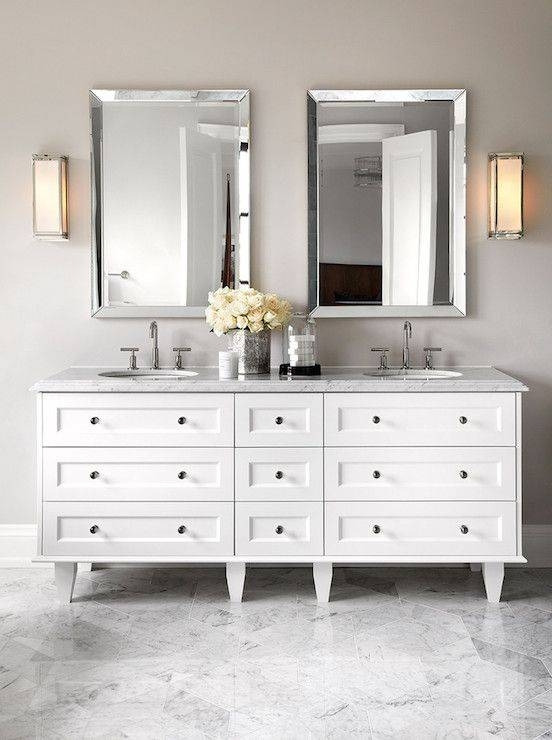 Best 25+ Beveled Mirror Ideas Only On Pinterest | Mirror Walls Throughout Double Bevelled Mirrors (View 6 of 30)