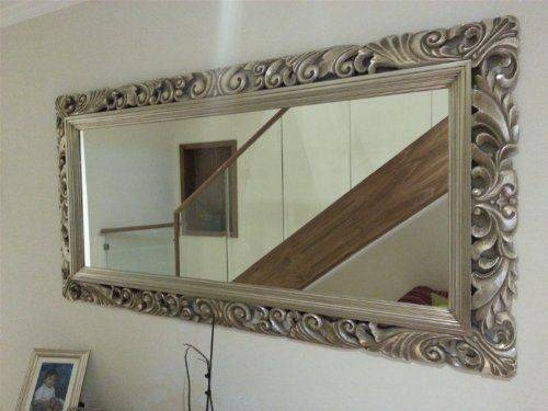 Best 25+ Big Wall Mirrors Ideas On Pinterest | Wall Mirrors Within Large Silver Vintage Mirrors (#14 of 30)