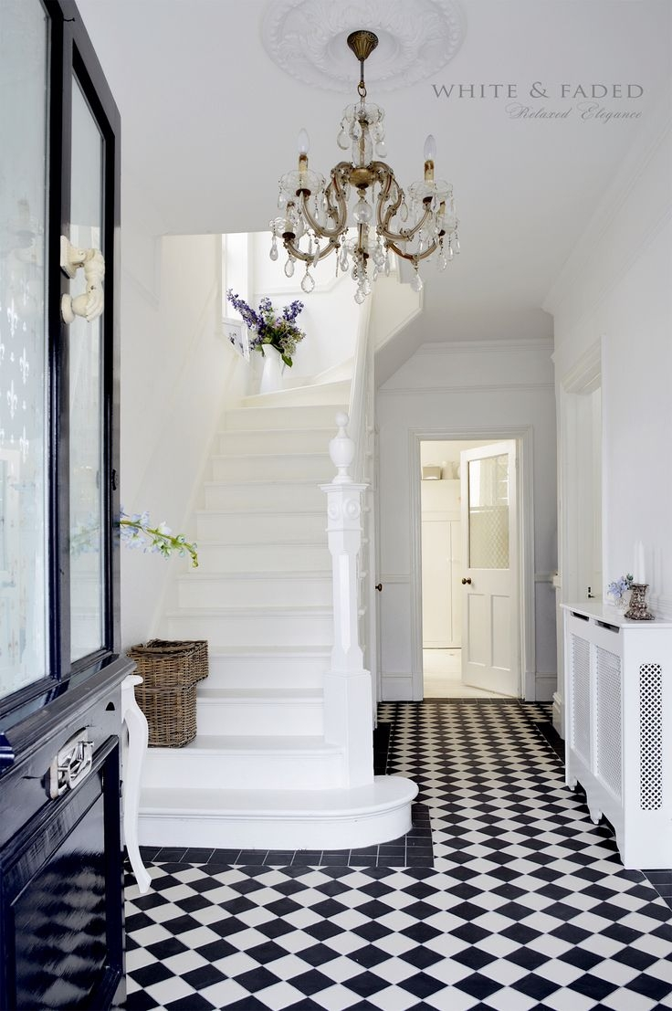Best 25 Black And White Stairs Ideas On Pinterest Black Pertaining To Hallway Runners Black And White (#1 of 20)