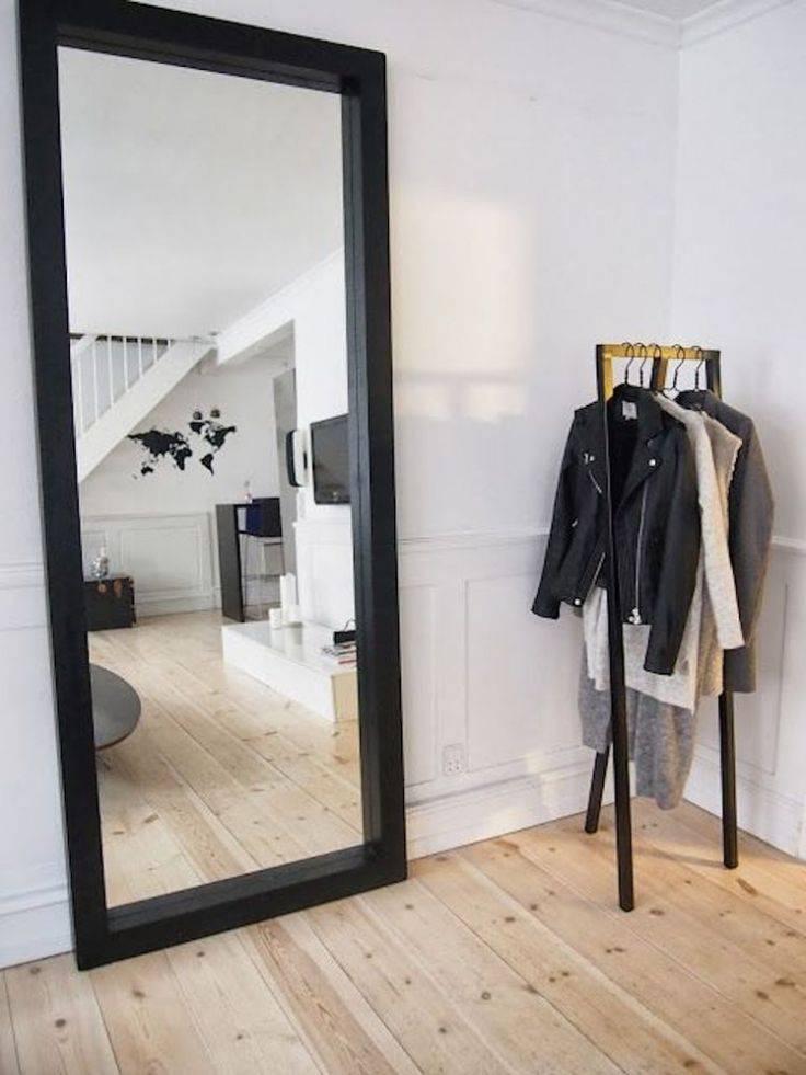 Best 25+ Black Full Length Mirrors Ideas Only On Pinterest For Large Floor Length Mirrors (#4 of 20)
