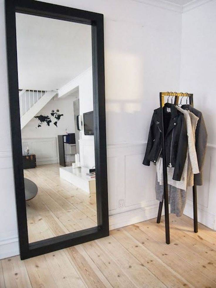 Best 25+ Black Full Length Mirrors Ideas Only On Pinterest With Regard To Full Length Large Mirrors (#3 of 20)