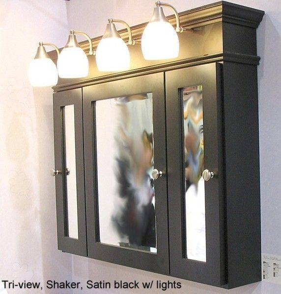 Best 25+ Black Medicine Cabinet Ideas On Pinterest | Traditional With Black Cabinet Mirrors (#14 of 30)