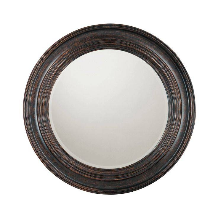 Best 25+ Black Round Mirror Ideas On Pinterest | Small Hall, Small For Black Circle Mirrors (#5 of 20)