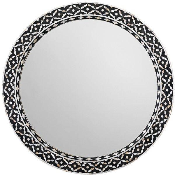 Best 25+ Black Round Mirror Ideas On Pinterest | Small Hall, Small Regarding Black Mirrors (#6 of 30)