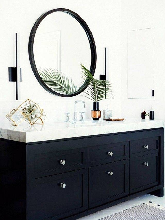 Best 25+ Black Round Mirror Ideas On Pinterest | Small Hall, Small Throughout Black Round Mirrors (#6 of 20)