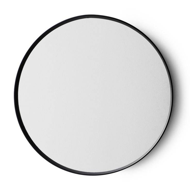 Popular Photo of Black Round Mirrors