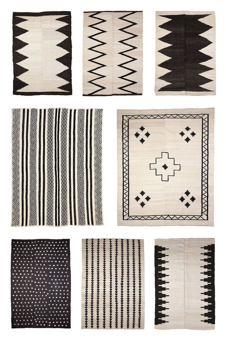 Best 25 Black Rug Ideas On Pinterest Country Rugs Black White With Hallway Runners Black And White (#2 of 20)
