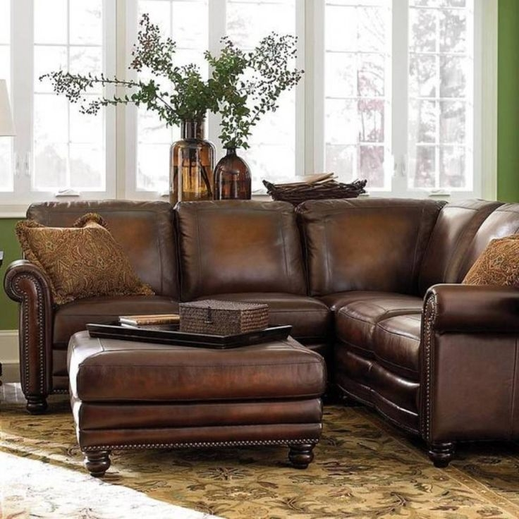 Best 25 Brown Corner Sofas Ideas On Pinterest Brown Living Room Pertaining To Small Brown Leather Corner Sofas (#4 of 15)