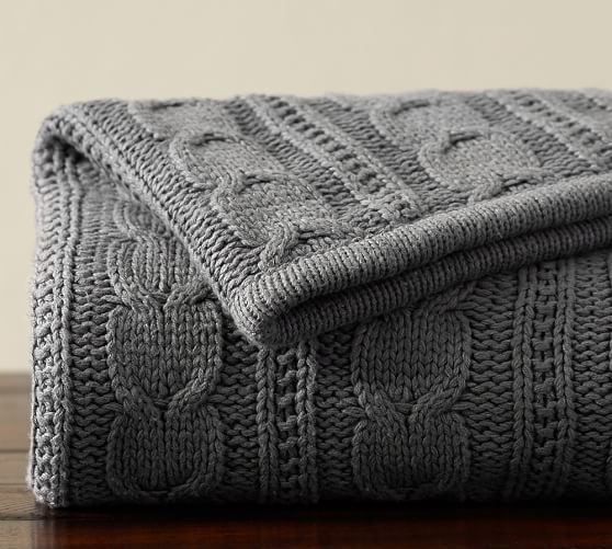 Best 25 Cable Knit Throw Ideas On Pinterest Cable Knit Blankets Pertaining To Grey Throws For Sofas (View 6 of 15)