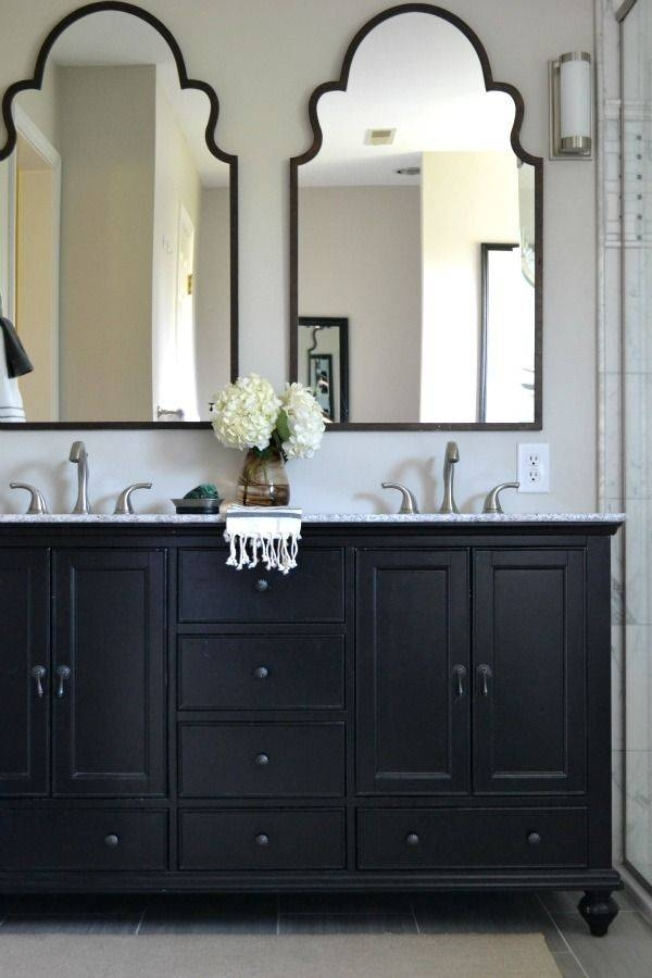 Best 25+ Classic Bathroom Mirrors Ideas On Pinterest | Diy White Inside Black Cabinet Mirrors (#16 of 30)