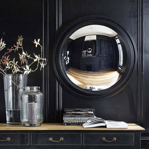Best 25+ Convex Mirror Ideas On Pinterest | Dark Blue Walls Regarding Round Convex Wall Mirrors (#14 of 30)