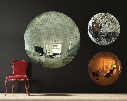 Best 25+ Convex Mirror Ideas On Pinterest   Dark Blue Walls With Regard To Decorative Convex Mirrors (#5 of 20)