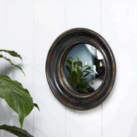 Best 25+ Convex Mirror Ideas On Pinterest | Dark Blue Walls With Round Bubble Mirrors (#15 of 30)