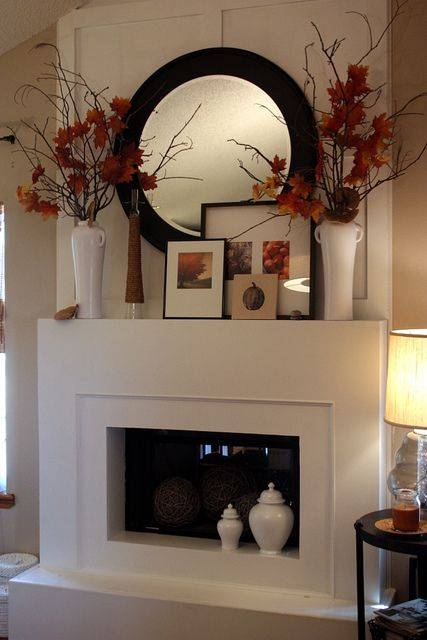 Best 25+ Corner Mantle Decor Ideas On Pinterest | Corner Fireplace In Large Mantel Mirrors (#10 of 30)