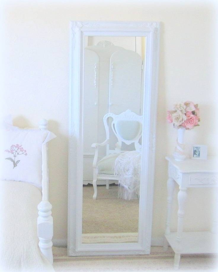 20 best collection of shabby chic full length mirrors. Black Bedroom Furniture Sets. Home Design Ideas
