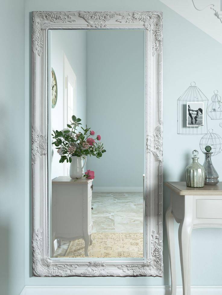 Best 25+ Cream Full Length Mirrors Ideas On Pinterest | Neutral Intended For Shabby Chic Floor Mirrors (#3 of 20)