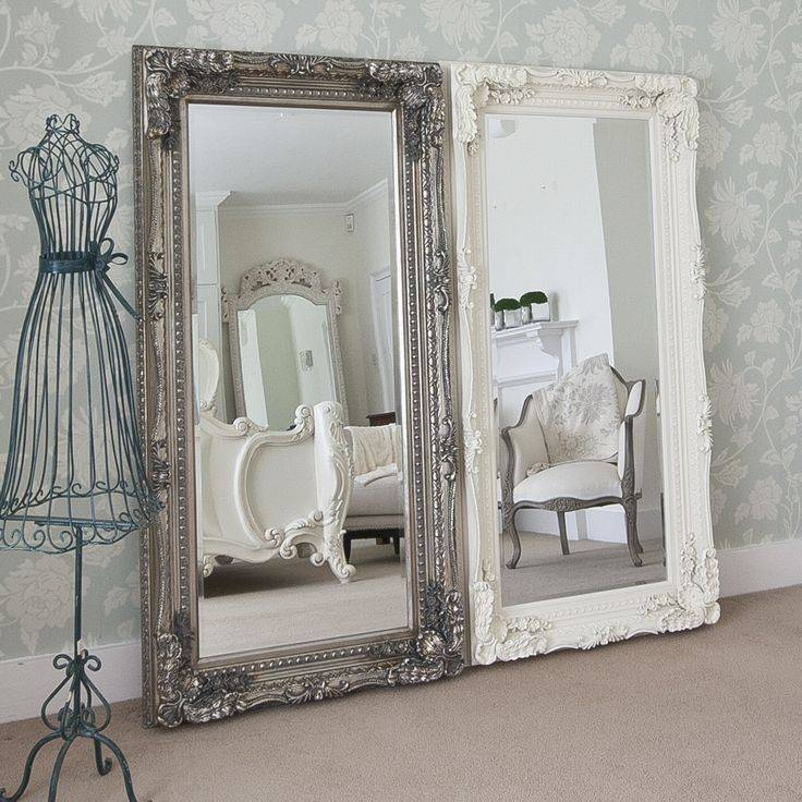 Best 25+ Cream Full Length Mirrors Ideas On Pinterest | Neutral With Regard To White Large Shabby Chic Mirrors (#12 of 30)