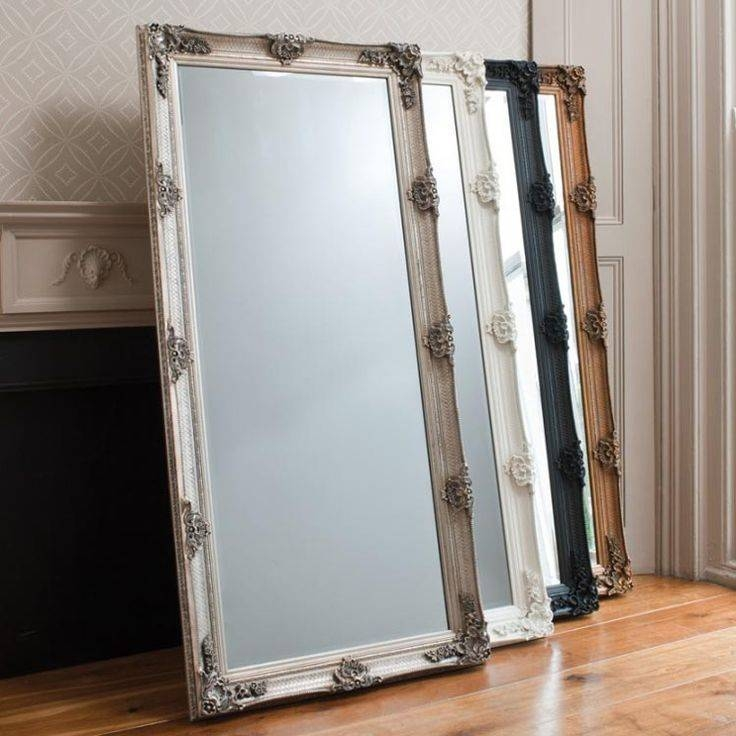 Best 25+ Cream Full Length Mirrors Ideas On Pinterest | Neutral With Shabby Chic Floor Standing Mirrors (#11 of 30)