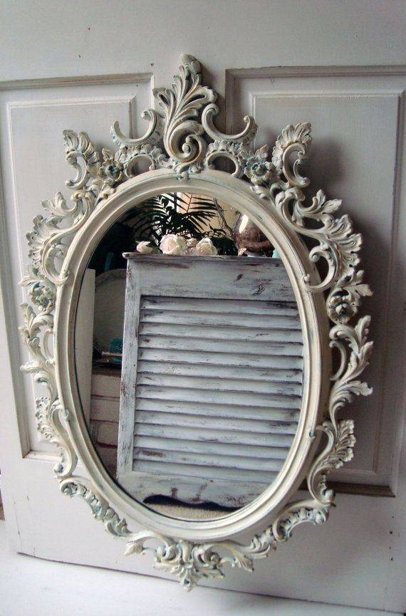 Best 25+ Distressed Mirror Ideas On Pinterest | Antiqued Mirror In Grey Vintage Mirrors (#9 of 20)