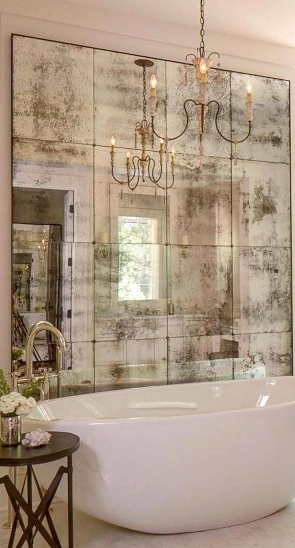Best 25+ Distressed Mirror Ideas On Pinterest | Antiqued Mirror Pertaining To Antique Mirrors For Bathrooms (View 3 of 20)
