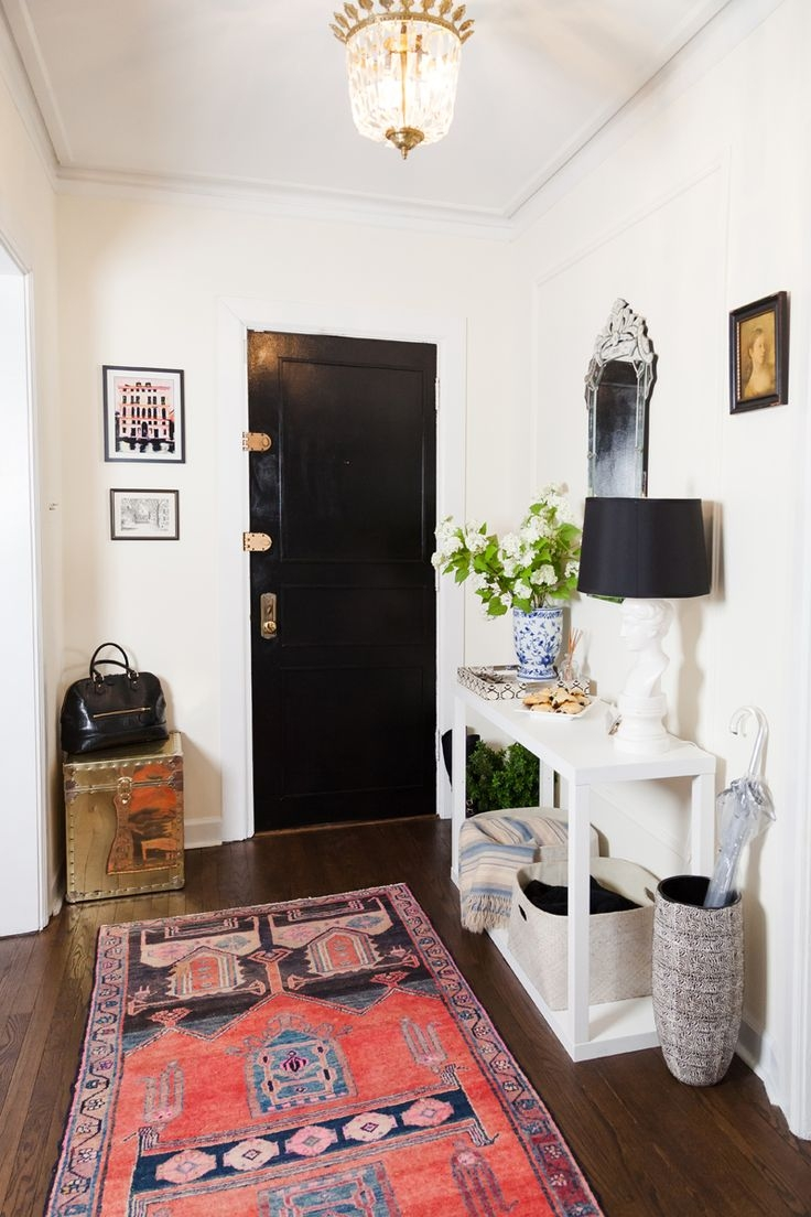 Best 25 Entryway Rug Ideas On Pinterest Entry Rug Black Door Intended For Rug Runners For Entryways (#4 of 20)
