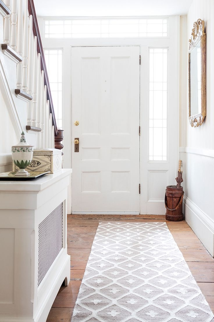 Best 25 Entryway Runner Ideas On Pinterest Rug Runners For Regarding Rug Runners For Entryways (#7 of 20)