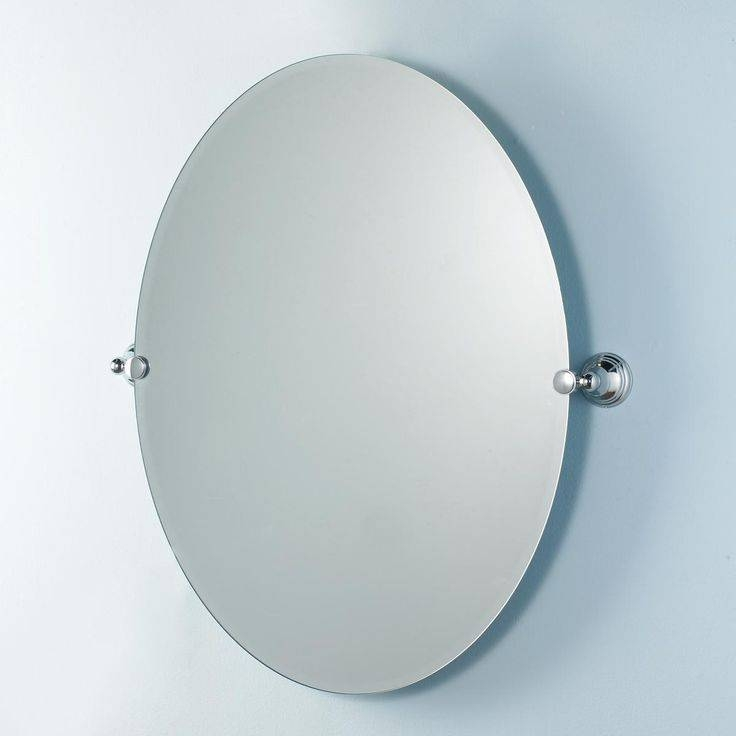Best 25+ Farm Frameless Mirrors Ideas Only On Pinterest | Cottage Throughout Oval Bevelled Mirrors (#6 of 30)