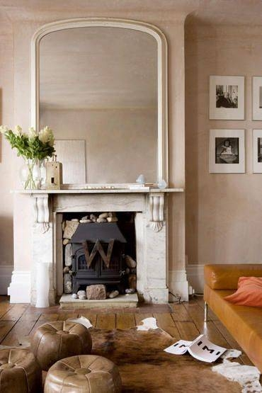 Inspiration about Best 25+ Fireplace Mirror Ideas Only On Pinterest | Fire Place Intended For Mantelpiece Mirrors (#26 of 30)