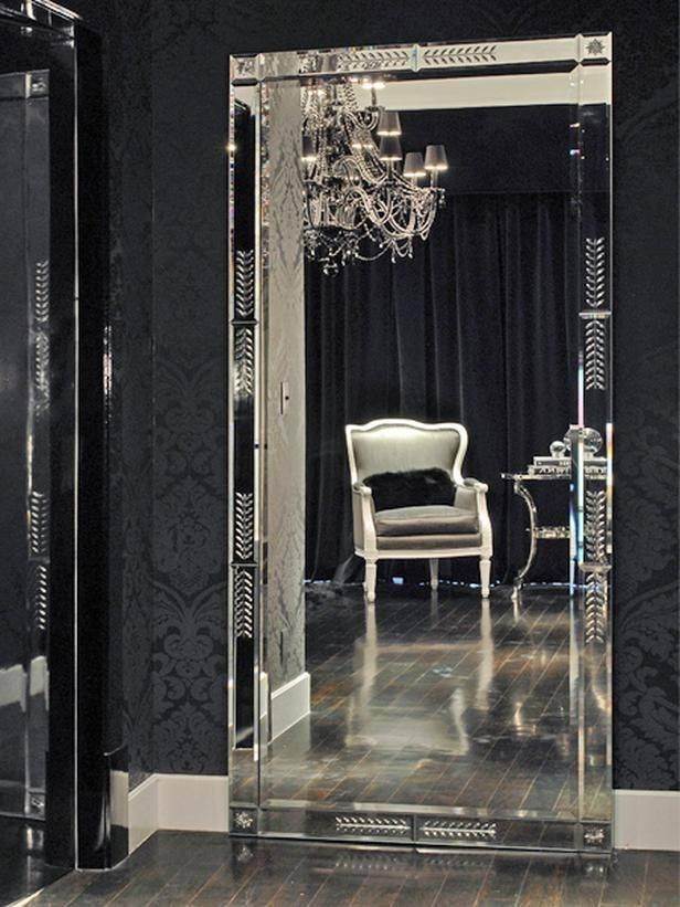 Best 25 30 Inch Vanity Ideas On Pinterest: 30 Ideas Of Black Floor Standing Mirrors