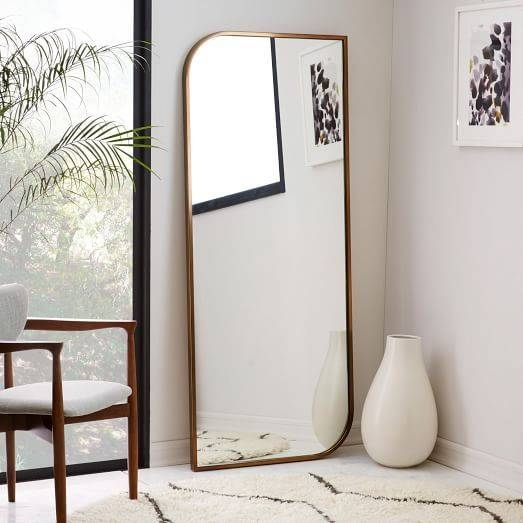 Best 25+ Floor Mirrors Ideas On Pinterest | Large Floor Mirrors Regarding Gold Standing Mirrors (#8 of 30)