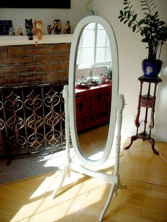 Best 25+ Floor Standing Mirror Ideas On Pinterest | Large Standing Throughout Free Standing Oval Mirrors (#5 of 20)