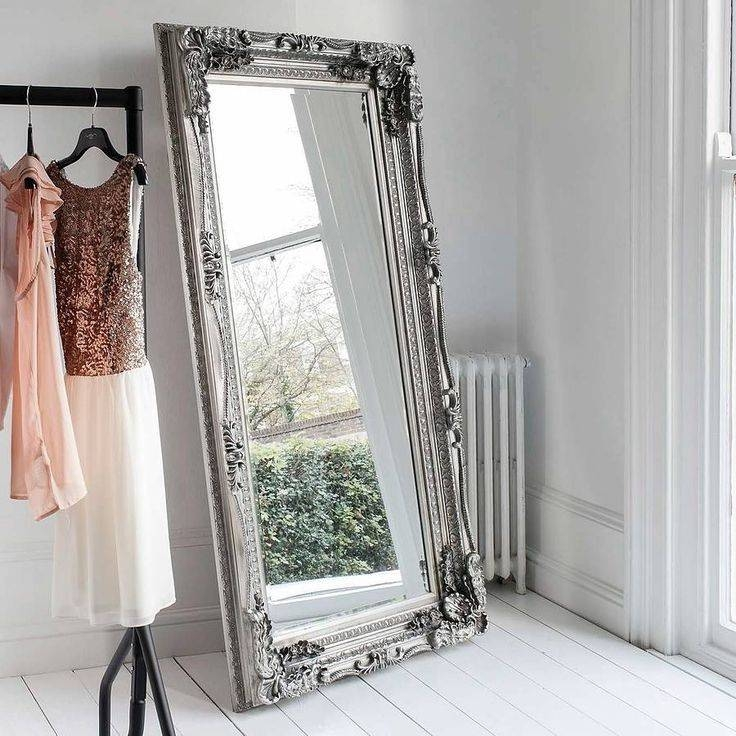 Best 25 Purple Mirror Ideas On Pinterest: 30 Photo Of Shabby Chic Free Standing Mirrors