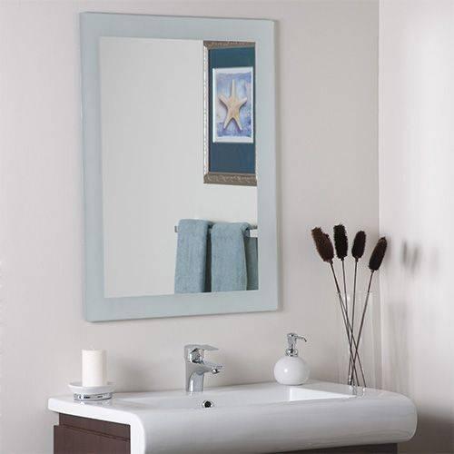 Best 25+ Frameless Mirror Ideas On Pinterest | Interior Frameless Pertaining To Large Frameless Mirrors (#3 of 20)