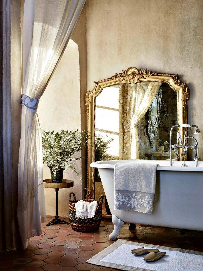 Best 25+ French Bathroom Ideas Only On Pinterest | French Country Pertaining To French Style Bathroom Mirrors (#15 of 30)