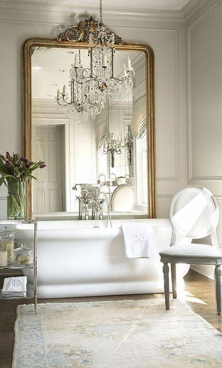 Popular Photo of French Bathroom Mirrors