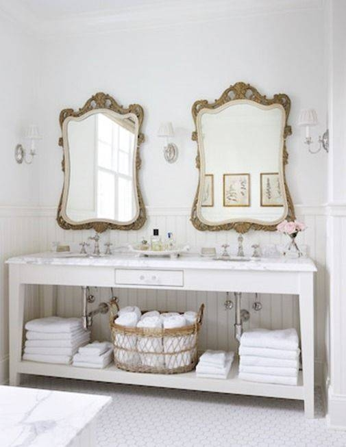 30 Collection of French Bathroom Mirrors