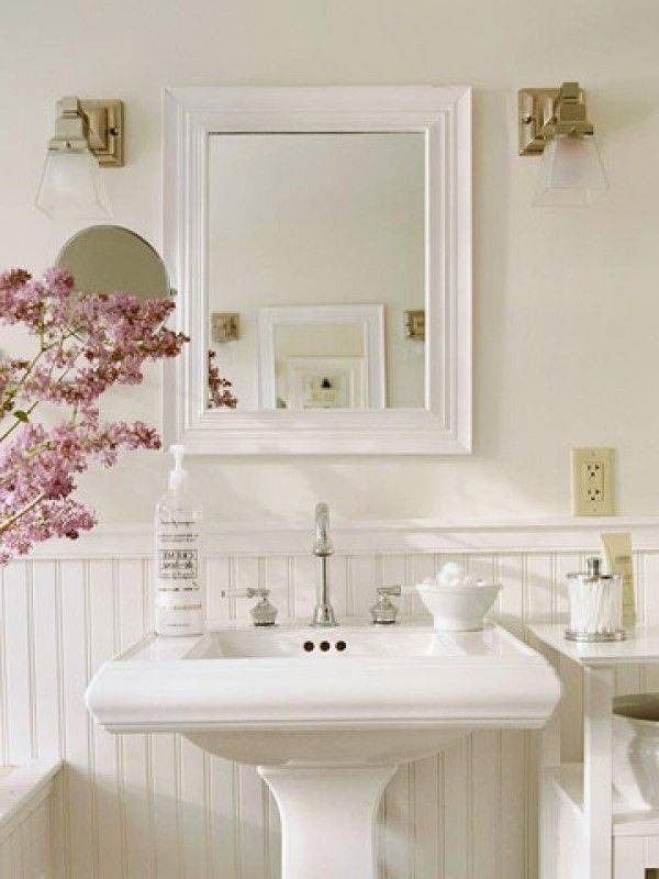Best 25+ French Country Bathrooms Ideas On Pinterest | French Regarding French Style Bathroom Mirrors (#19 of 30)