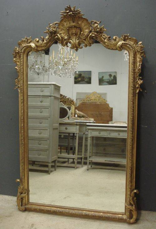Best 25+ French Mirror Ideas On Pinterest | Antique Mirrors Pertaining To Big Antique Mirrors (#10 of 20)