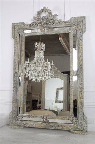 Best 25+ French Mirror Ideas On Pinterest | Antique Mirrors Regarding French Floor Mirrors (#12 of 20)