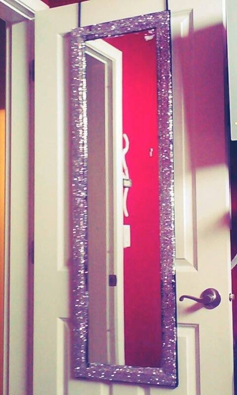 Best 25 30 Inch Vanity Ideas On Pinterest: 30 Collection Of Glitter Wall Mirrors