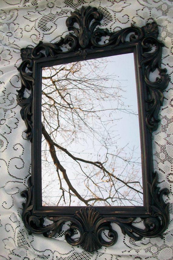 Best 25+ Gold Wall Mirror Ideas On Pinterest | Round Mirrors For Black And Gold Wall Mirrors (#8 of 20)