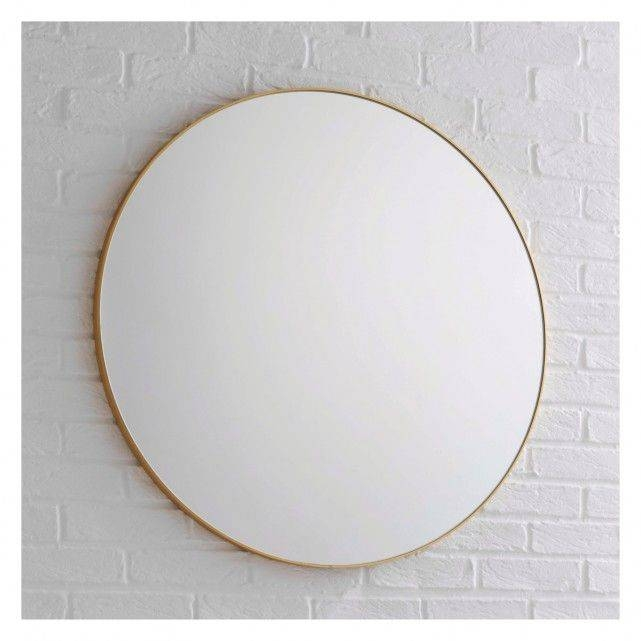 Best 25+ Gold Wall Mirror Ideas On Pinterest | Round Mirrors Intended For Large Oval Wall Mirrors (#9 of 30)