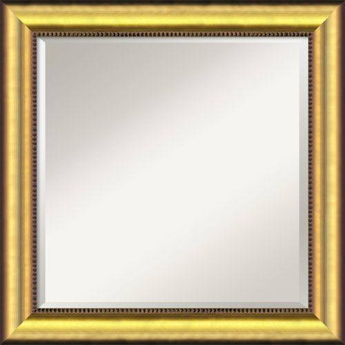 Best 25+ Gold Wall Mirror Ideas On Pinterest | Round Mirrors Intended For Square Gold Mirrors (#8 of 20)