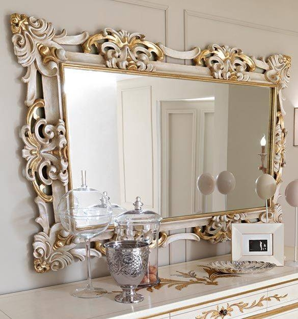 Best 25+ Gold Wall Mirror Ideas On Pinterest | Round Mirrors Pertaining To Big Ornate Mirrors (#17 of 30)